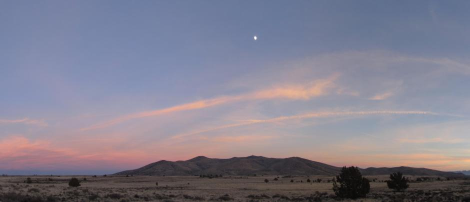 The Great Basin at dusk.