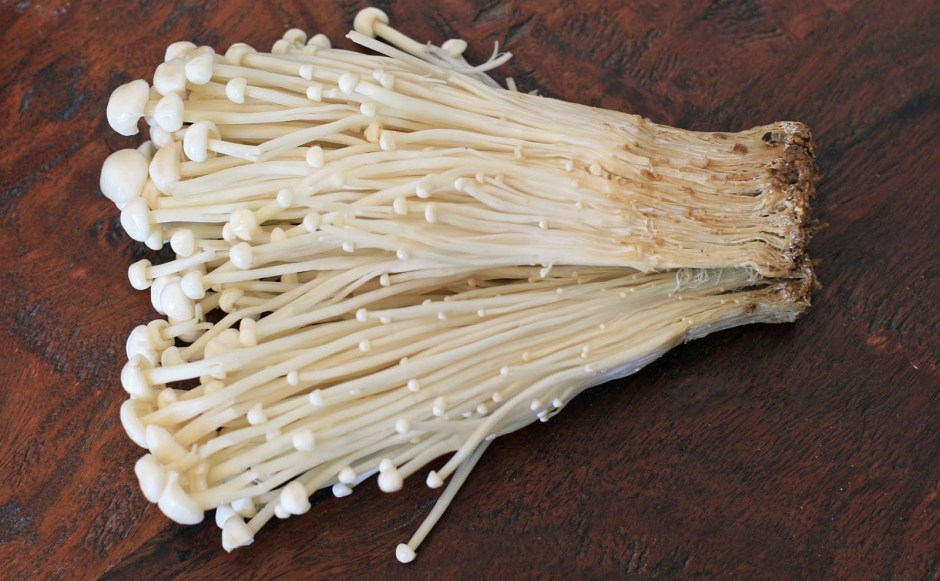 Cultivated Enoki Mushrooms